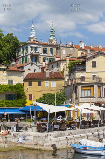 May 17, 2017: Croatia- Istria- Adria- Kvarner Gulf- Volosko- harbour