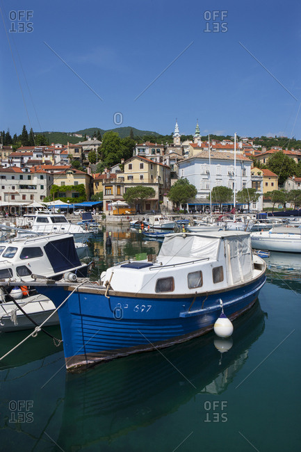 May 19, 2017: Croatia- Istria- Adria- Kvarner Gulf- Volosko- harbour