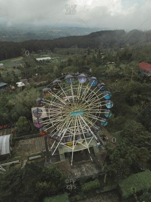 Indonesia- Bali- Bedugul- ferris wheel