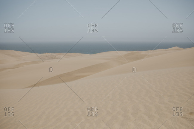 Namibia- Walvis Bay- Namib-Naukluft National Park- Sandwich Harbour- dune landscape
