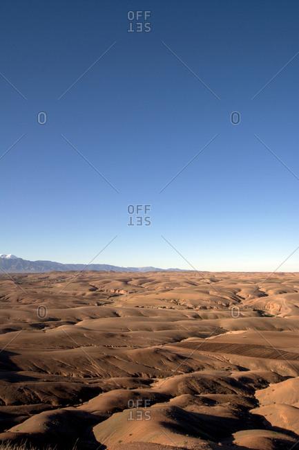Morocco- Agafay desert