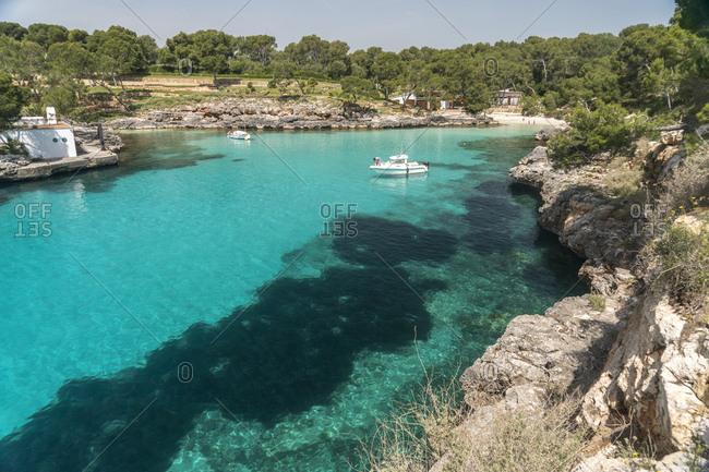 Spain- Baleares- Mallorca- Felanitx- Cala Mitjana