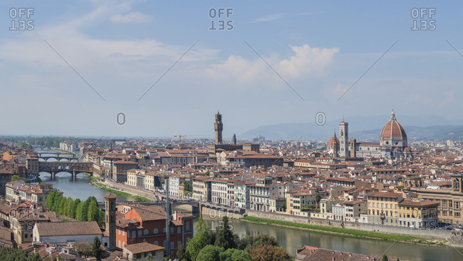 Italy- Tuscany- Florence- Ponte Vecchio