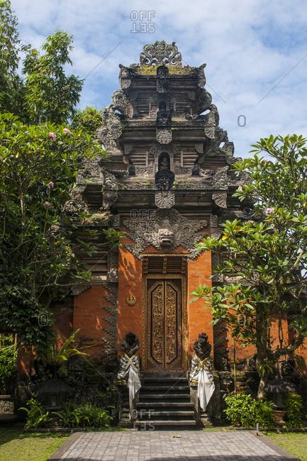 Indonesia- Bali- Ubud- Temple complex
