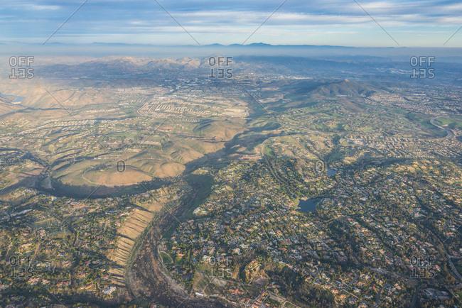 USA- California- Del Mar- Aerial view