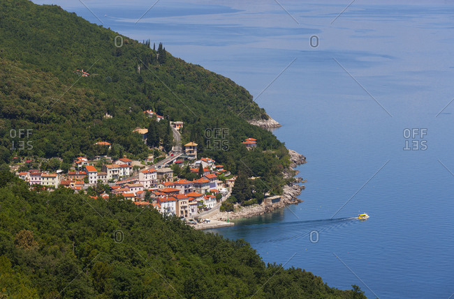 Croatia- Istria- Adria- Kvarner Gulf- Moscenicka Draga