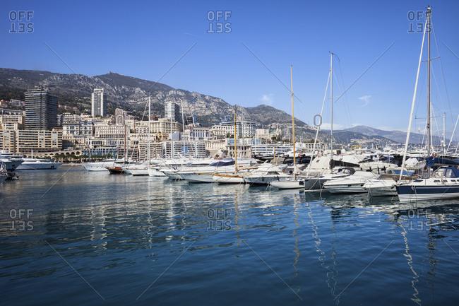 Principality of Monaco- Monaco- Monte Carlo- Marina