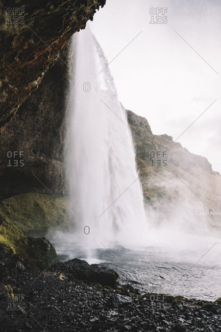 Iceland- Seljalandsfoss Waterfall