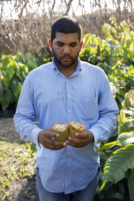 May 28, 2014: BELIZE, Punta Gorda, Toledo, Belcampo Belize Lodge and Jungle Farm offers a a farm to table cuisine supplied by their own organic farm, they do their best to offer a real experience of Belize flavors