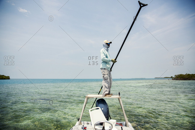 May 29, 2014: BELIZE, Punta Gorda, Toledo, guests can go Flyfishing, Belcampo Belize is known to be a flyfisher's paradise, all of the guides are local to the Southern Belize region and are extremely patient and professional, Belcampo Belize Lodge and Jungle Farm