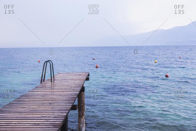 Italy- Veneto- Lake Garda near Brenzone