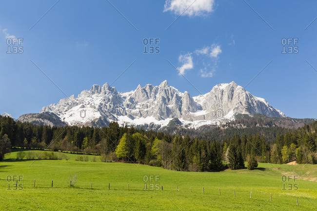 Austria- Tyrol- Going am Wilden Kaiser- Wilder Kaiser- Kaiser Mountains