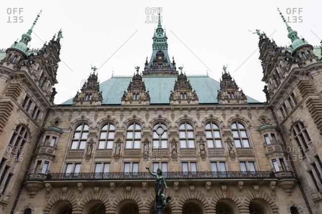 Germany- Hamburg- Hamburg City Hall