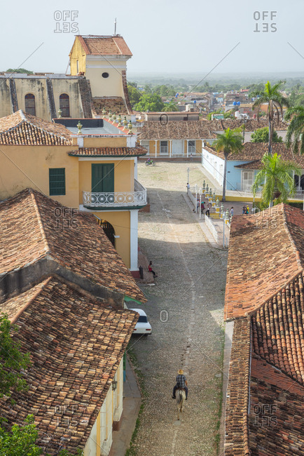 View from San Francisco de Asis over Trinidad, Cuba