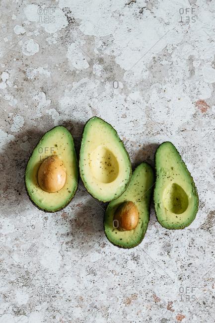 Minimal organic sicilian avocados