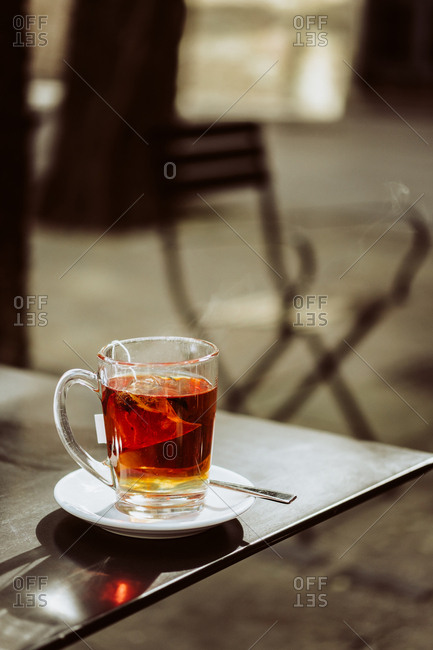 Tea on table