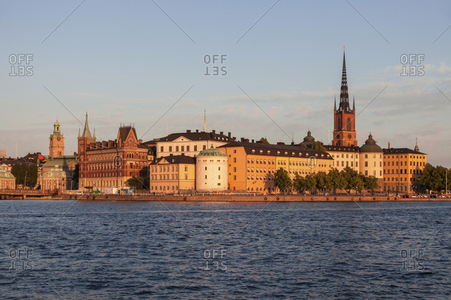 January 3, 2016: Skyline of Stockholm, Sweden,  Europe