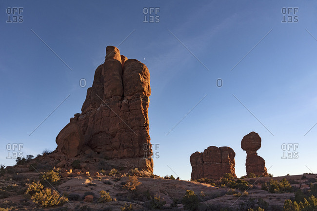 Balanced Rock in Arches National Park, Utah, USA