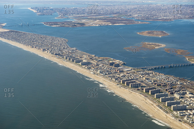 USA- Aerial view of New York