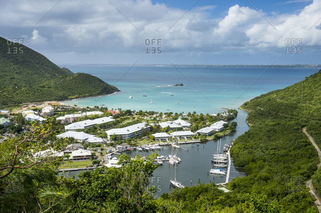 Caribbean- Antilles- Sint Maarten- Grand-Case- Oversea France