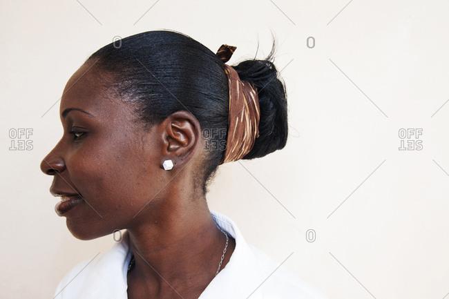 February 3, 2012: JAMAICA, Oracabessa. Goldeneye Hotel and Resort. Portrait of kitchen staff at the restaurant.