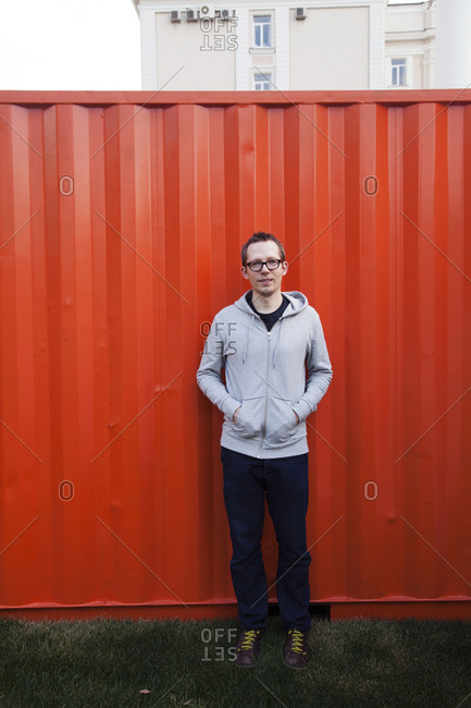 July 6, 2011: RUSSIA, Moscow. Portrait of Anton Belov, Director of Garage Museum of Contemporary Art.