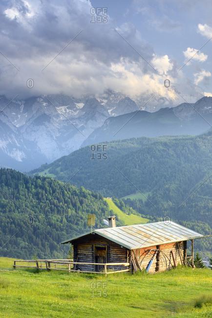 Germany, Bavaria, Bayern, Upper Bavaria, Oberbayern, Garmisch-Partenkirchen, Landscape