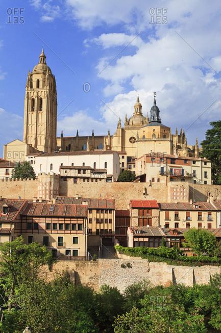 Spain, Castilla y Le�n, Segovia, Segovia district, The Cathedral