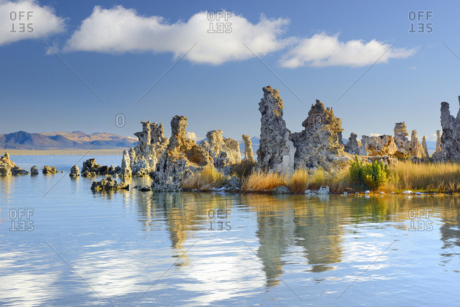 United States, California, Mono Lake Tufa State Reserve, Mono Lake, South Tufa area