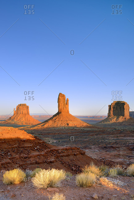 United States, Arizona, Monument Valley Tribal Park, Monument Valley