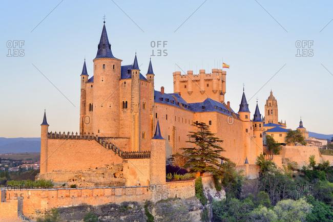 Spain, Castilla y Le�n, Segovia, Alcazar Castle, Segovia district