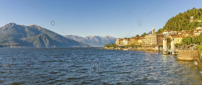 September 11, 2007: Italy, Lombardy, Como district, Como Lake, Bellagio, Lakeside of Bellagio