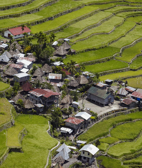Village of Bataad and Rice Terraces