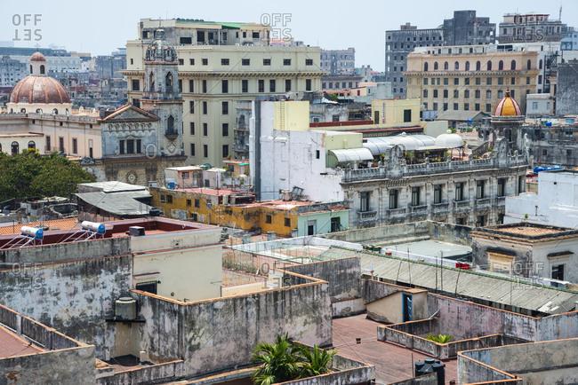 Havana, Cuba View from a roof top.