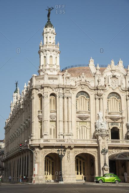 May 28, 2017: Great Theatre of Havana, Gran Teatro de La Habana, Havana, Cuba