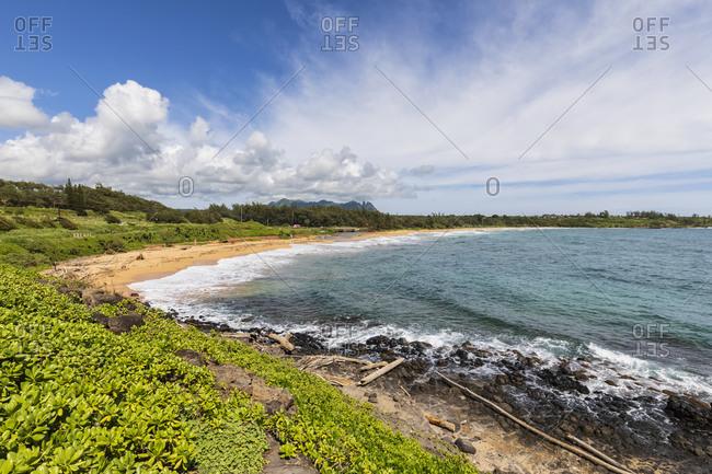 USA- Hawaii- Kauai- Kauai Multiuse Path- Kealia Beach