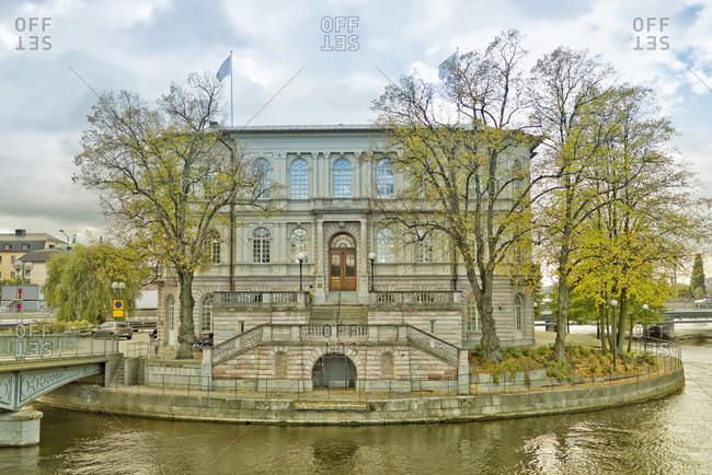 Sweden- Stockholm- view on Stroemsborg- headquarters of International IDEA