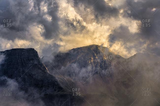 Italy- Veneto- Dolomites- Alta Via Bepi Zac- Sunset