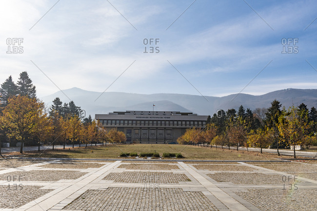 November 5, 2018: National Museum of History- Sofia- Bulgaria