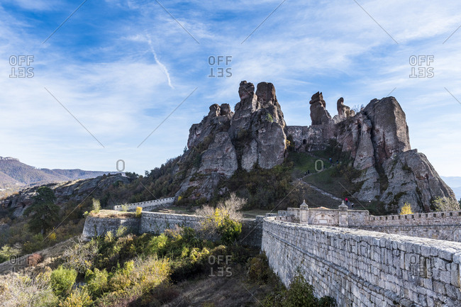 Kaleto Rock Fortress- rock formations- Belogradchik- Bulgaria