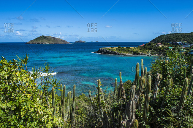 Caribbean- Lesser Antilles- Saint Barthelemy- View to Caribbean Sea