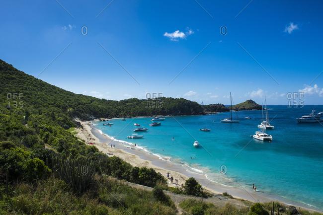 Caribbean- Lesser Antilles- Saint Barthelemy- Colombier Beach