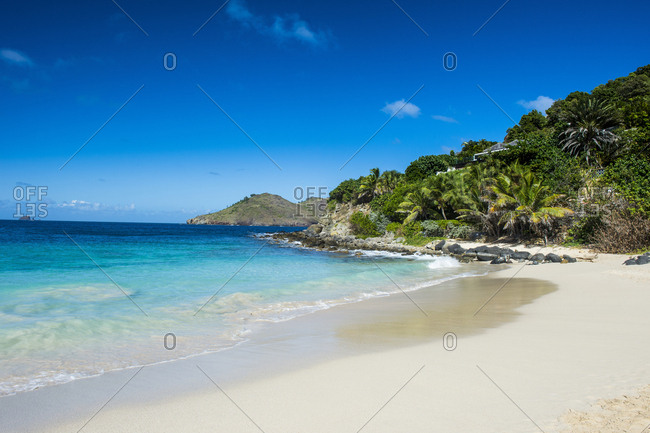 Caribbean- Lesser Antilles- Saint Barthelemy- Flamand Beach