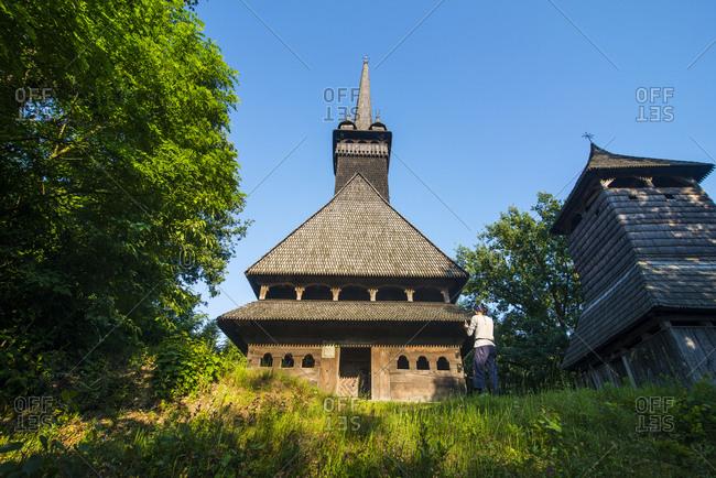 Ukraine- Carpathian mountains- Sokyrnytsya- Church of St. Nicholas