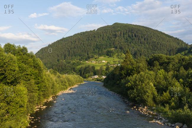 Ukraine- Carpathian mountains- Verkhoyna- Cheremosh River