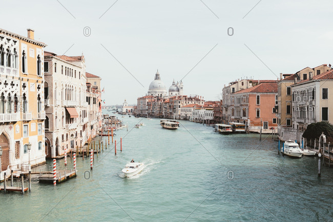 View of Venice canal Grande