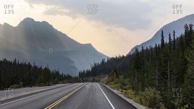Canada, Alberta, Canadian Rockies, Icefields Parkway