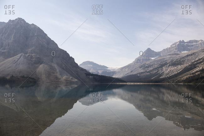 Canada, Alberta, Bow Lake, Canadian Rockies