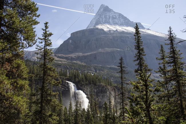 Canada, British Columbia, Canadian Rockies, Mount Robson Provincial Park, Emperor Falls