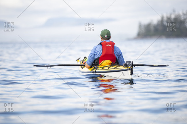 August 26, 2018: Canada, British Columbia, Kayaking in the Johnstone Strait
